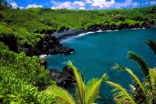 Black Beach, Hana, Maui, Hawaii