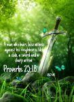 proverbs 25 18