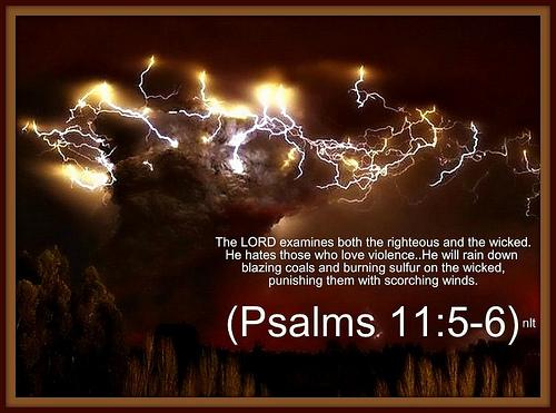 psalms 11 5-6