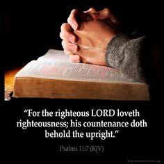 psalms 11 7