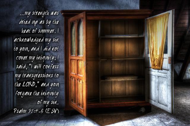 revealing the christian life - secret sin