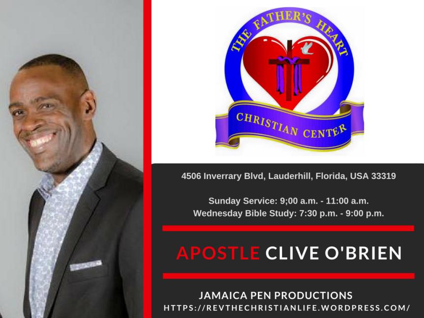 Apostle Clive O'brien